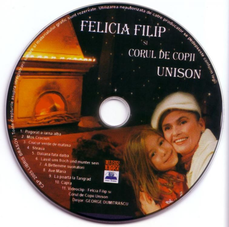 Felicia Filip et le Choeur d'Enfants Unison