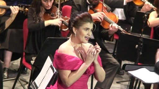 Felicia Filip à Venise en 2007 (Photo V.Haut)