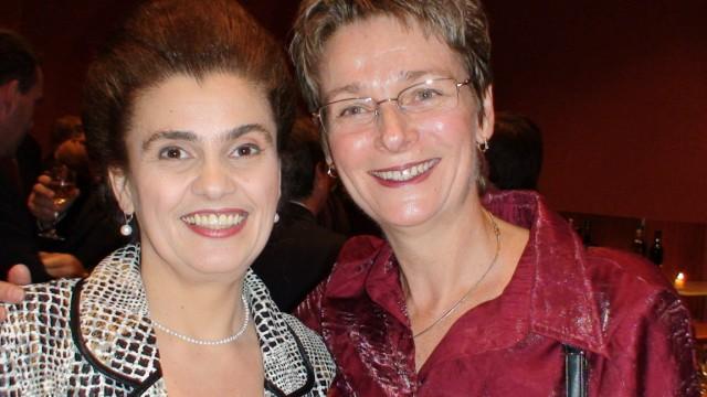 Felicia Filip et Véronique Haut