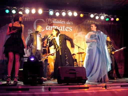 Felicia Filip et K1 à De Panne (Belgique) en 2008
