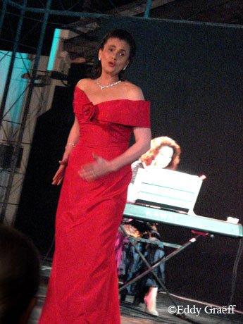 Felicia Filip à Saint Louis du Sénégal en mars 2009